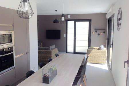 Gîte - Maison contemporaine - Ev