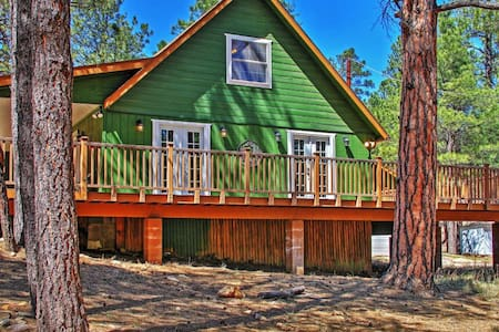 Warm 3BR Happy Jack Cabin in Coconino Nat'l Forest - Happy Jack - Kisház