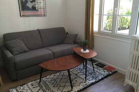 Cosy studio at Buttes Chaumont/Live as a Parisian! - París - Departamento