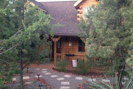 Rustic Log Home - House