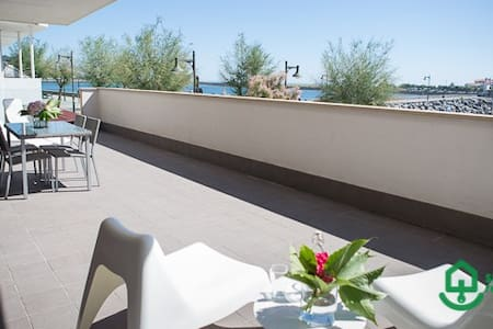 KAIZAHARRA I: Apartment with spectacular sea views in the heart of Hondarribia - Hondarribia