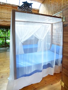 Barefoot in Barra -Blue room - House
