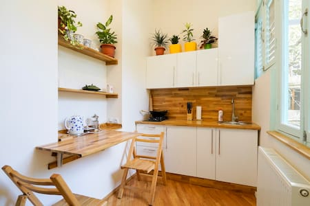 Tiny flat with terrace & garden - Tbilisi - Apartment