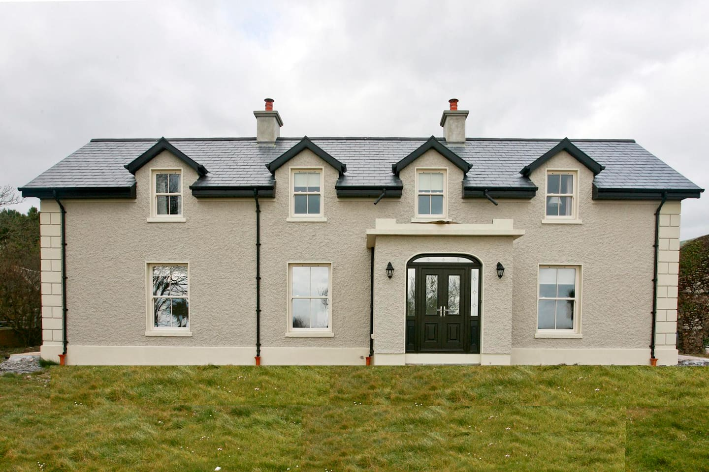 Large house with mature garden to the front and private parking to the rear for up to 5 cars