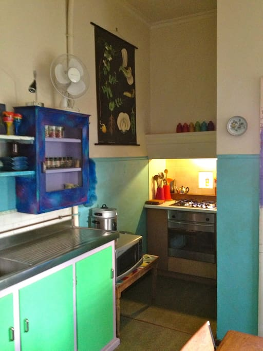 kitchen with cooking nook