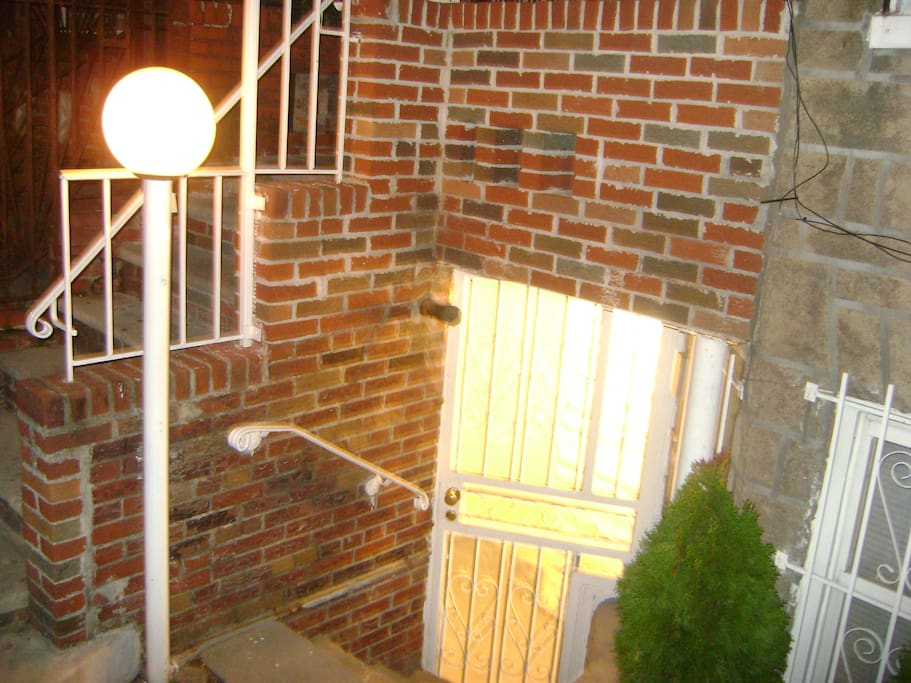 Front Entrance (Night Security Lighting)