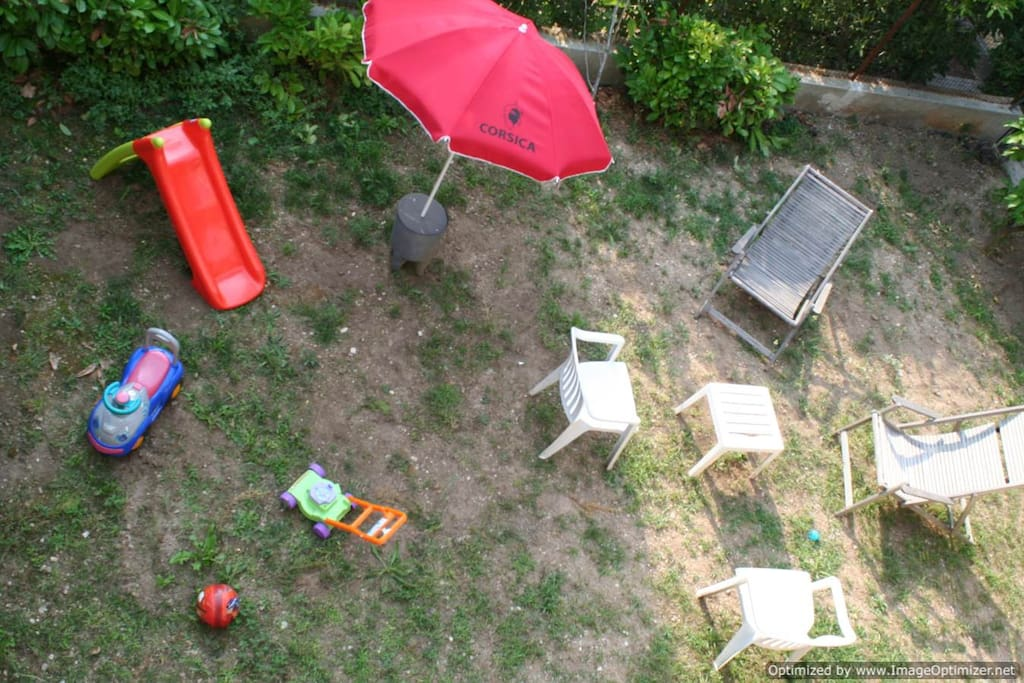 Large choice of baby toys for the garden available upon the request