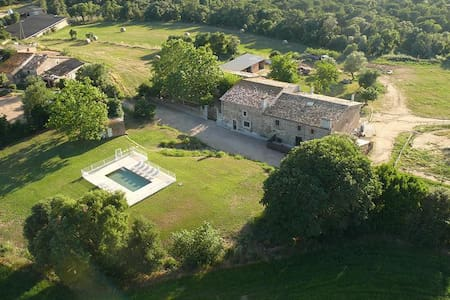 Masia with pool near the beach - Maison