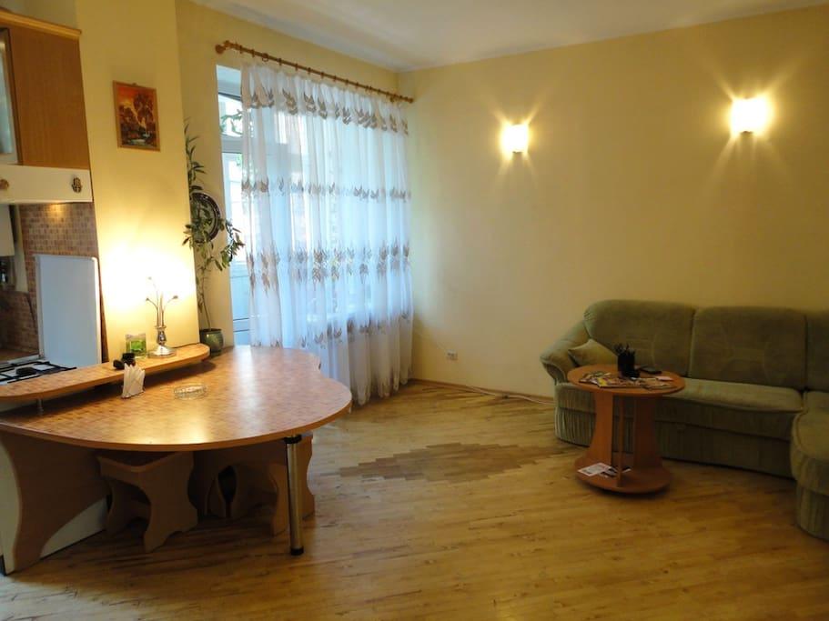 2 bedrooms flat at Sumskaya Lux!!!!