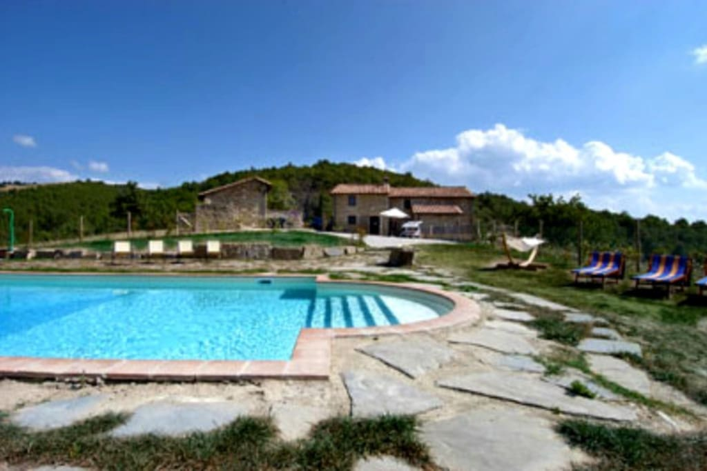country house with pool, Perugia