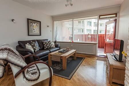 GentleSpace Apts - Túngata, 2 twin beds & sofa-bed - Ísafjörður - Apartment