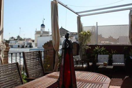 Ático-loft con terraza de 25 metros - Séville