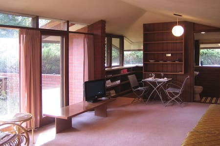 Frank Lloyd Wright Style Guesthouse