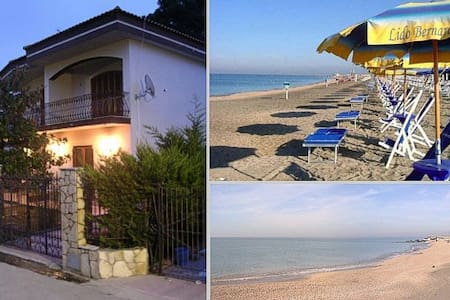 30 km from Napoli, 300 mt. from sea - Villa