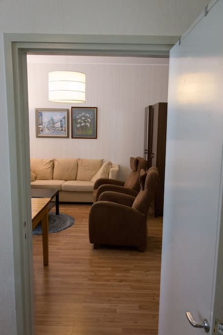 From master bedroom to livingroom