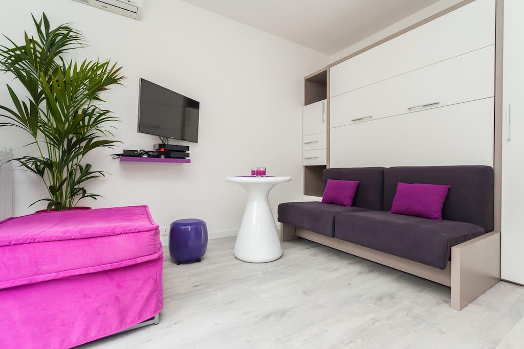 Modern Studio close to Nice Centre