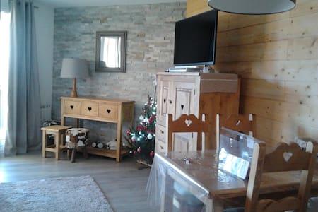 """Appartement ski """"esprit chalet"""" Quartier pieton - Mont-de-Lans - Appartamento"""