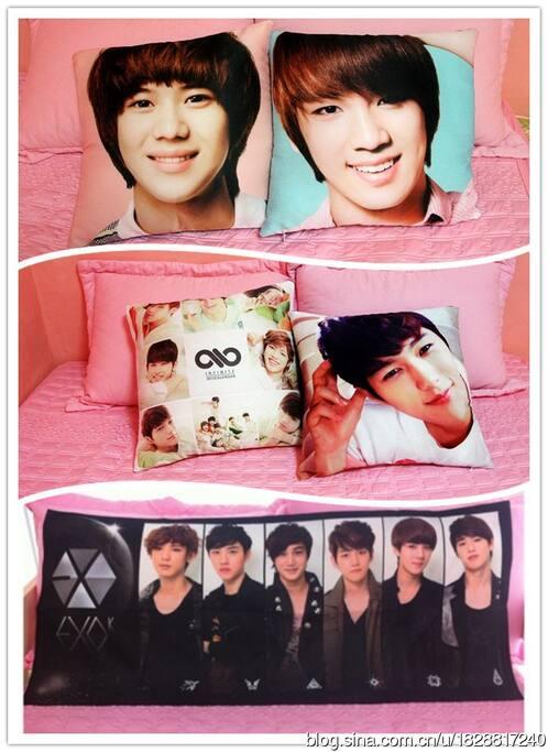 Shinee,Exo,infinite bed