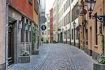 Romantische Wohnung in der Altstadt