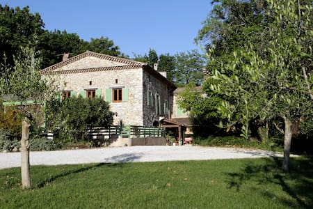 Chambres d'hôtes La Magnanerie en Drôme Provençale - Sauzet - Inap sarapan