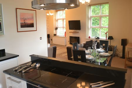 Luxury 2 bed 2 bath duplex apartment - Saddleworth - Apartament