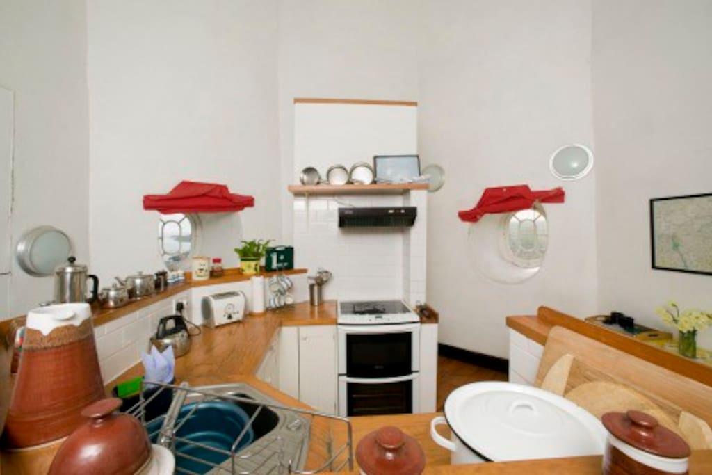 Kitchen in the Wicklow Lighthouse- (website hidden)