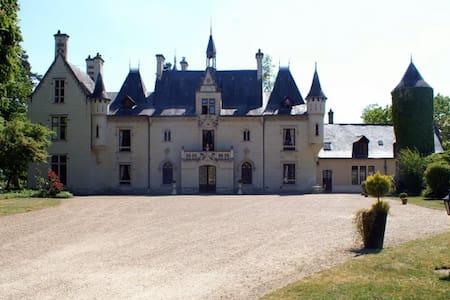 """Chambre """"Princesse"""" Château Saumur - Vivy - Castle"""