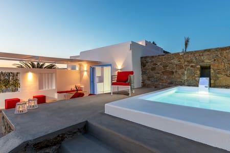 O Lofos - Chora Villa in Agios Stefanos w/seaview - Villa