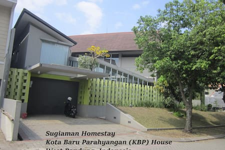 Homestay: spacious & eco-friendly - Padalarang