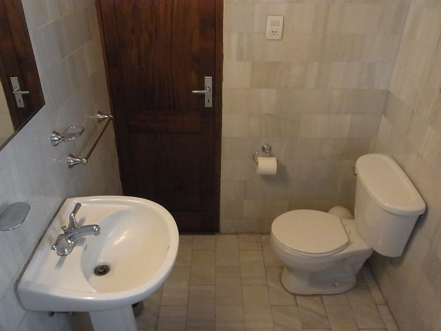 The Private Bathroom with a Bathtub