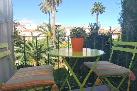1 bed Old Antibes w/AC & Balcony