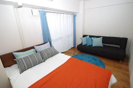 22New open! Like Hotel &3bike WIFI - Wohnung