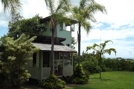 Avocado Tree-House near Pahoa - Rumah