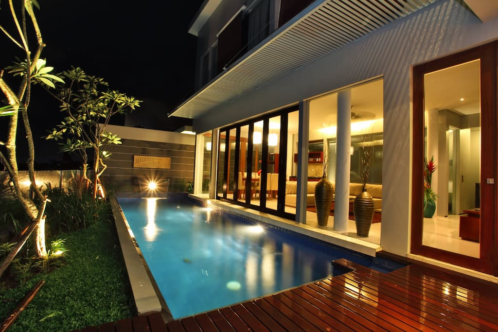 3BR pool villa with Rice field View