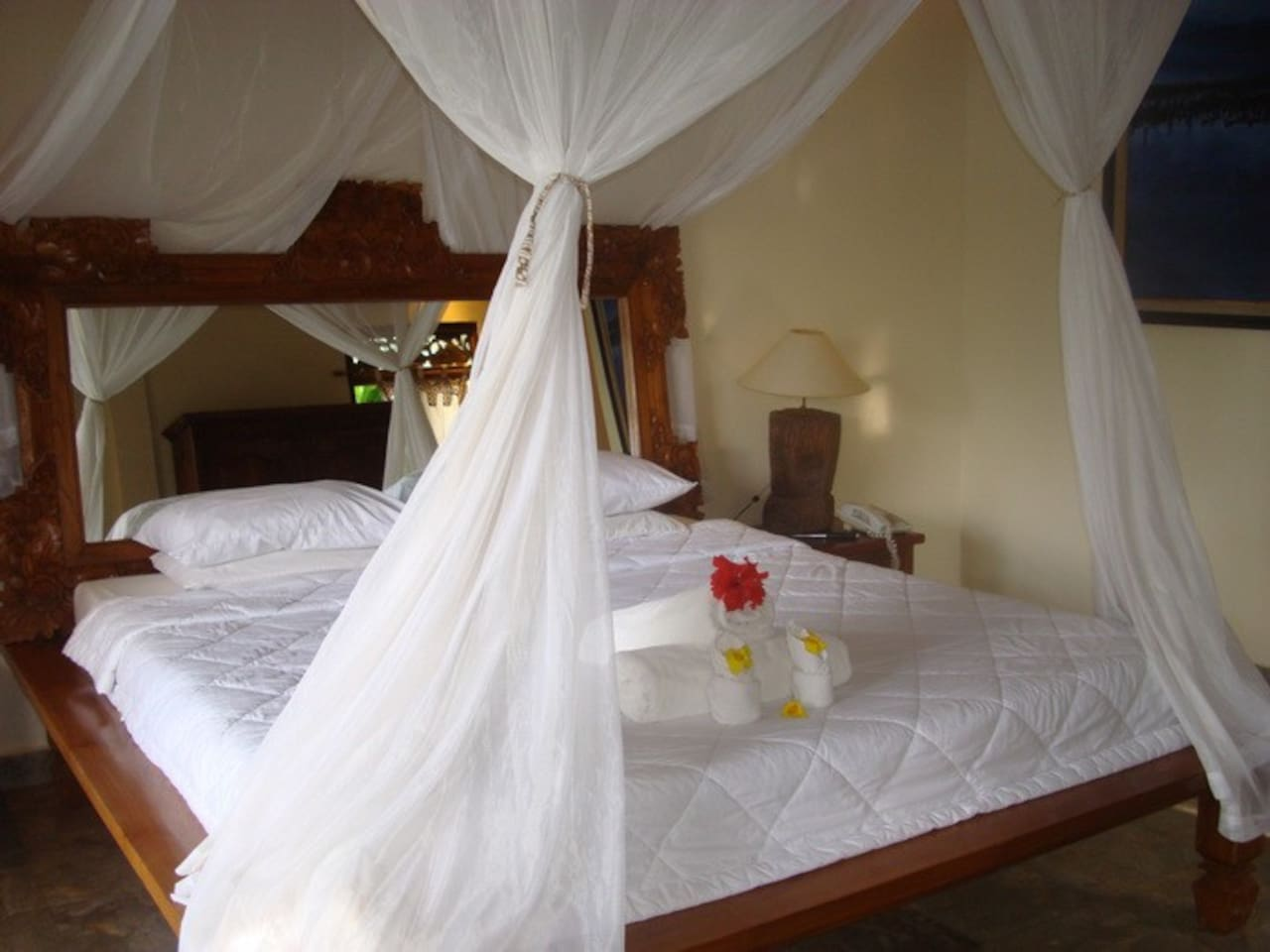 Each guestroom features different set up and lay out