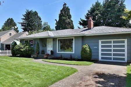 2bd/1ba retreat in quiet NE Portland neighborhood - Portland - Other