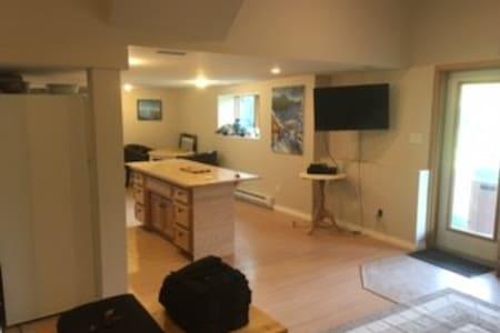 Large 1 bdm Basement Suite (pet friendly) - Hele etagen