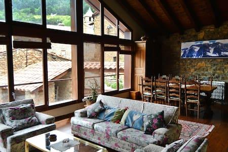 Casa rural con cocina y sauna - Paller del Pairot - Casa