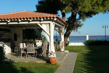 Villa Peleia - Beachfront - Agios Panteleimon - Villa
