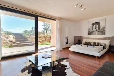 beautiful house in the nature of  cala Jodal - Ibiza