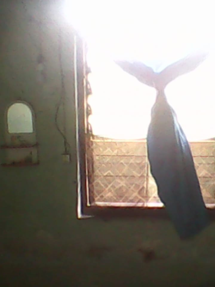 a window of the room