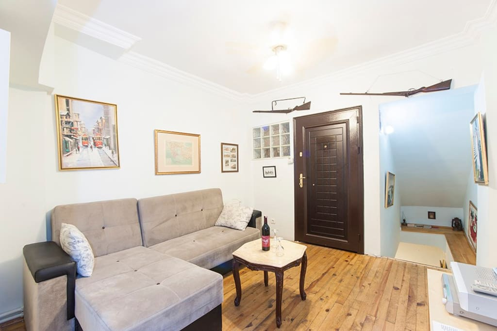 Taksim Duplex One-bedroom Apartment