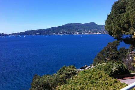 casa sul golfo di Portofino - Zoagli - Apartment