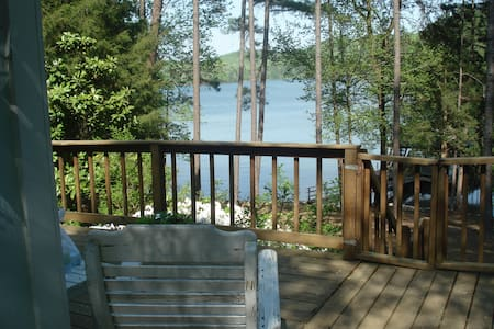 Peaceful cabin  on Lake Hartwell - Martin - Cabin