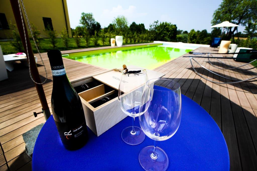 Winery farm La Bella Vite - Steira