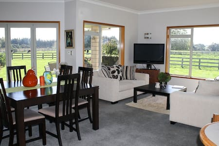 Amberfields - a deluxe B&B farmstay - Pirongia