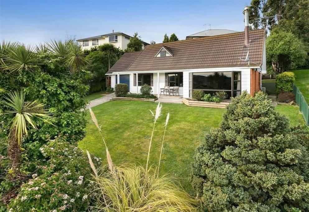 Front of the house..we have added a large deck since this photo was taken..perfect for enjoying the views and sunsets