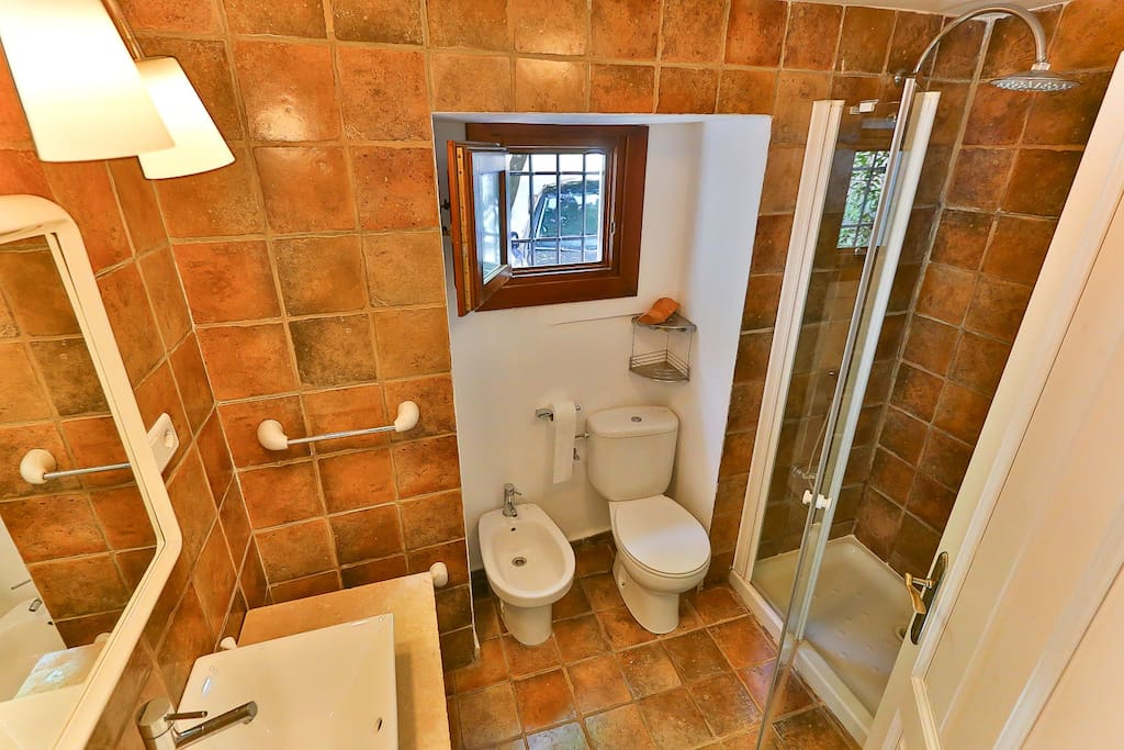 baño privado de la habitación 1 Private Bathroom