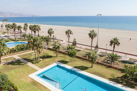 House in beachfront wifi 3 rooms - Roquetas de Mar - Appartamento