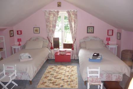 Chambres dans maison de maître - Nozay - Haus